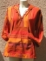 Coat à capuche orange